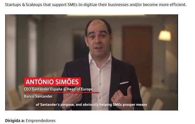 Santander X Global Challenge I Helping Businesses Prosper